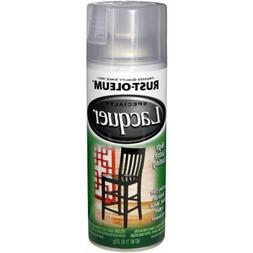Rust-Oleum 1906830 Lacquer Spray, Clear, 11-Ounce
