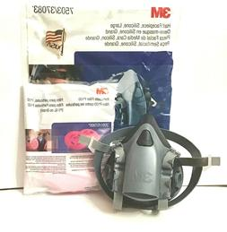 3M 7503/37083 Respirator Large Size Half Face Piece with 1 P