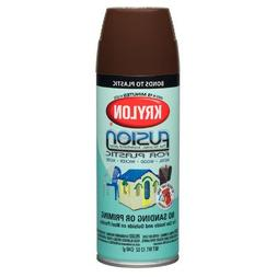 Krylon Fusion For Plastic Paint Satin Espresso - Lot of 6