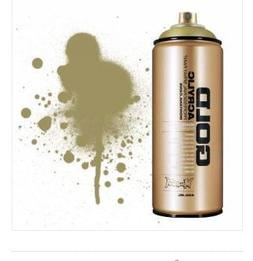 Montana GOLD Acrylic Professional Spray Paint 400 ml - Goldc