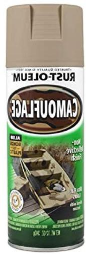 12 Camouflage Spray Paint Black And For &
