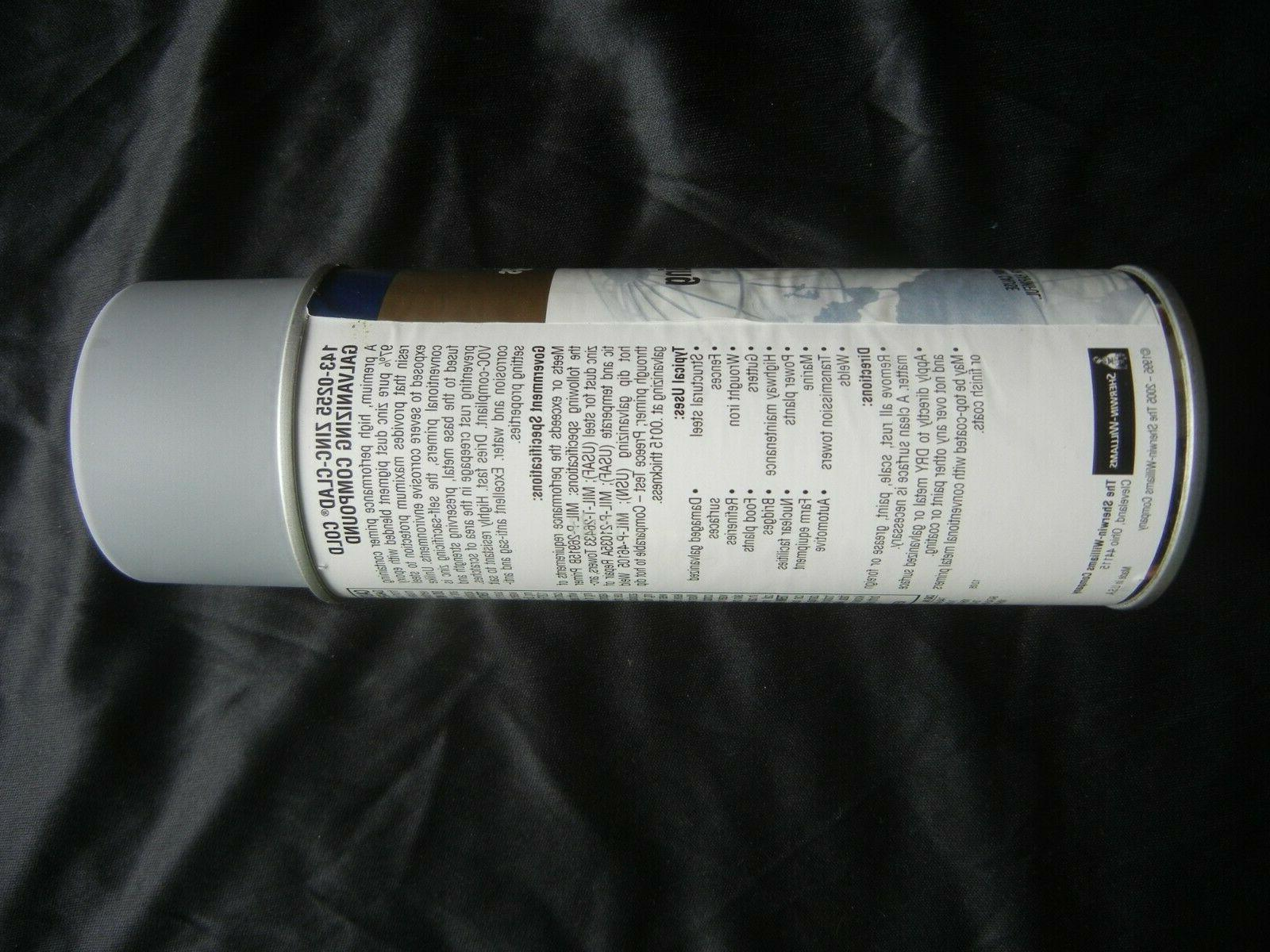6 Pk 97% Zinc Compound Paint