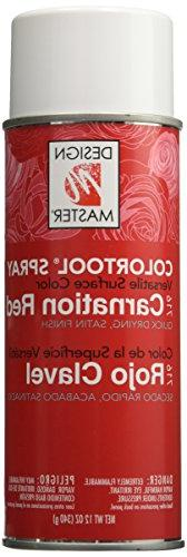 Colortool Floral Spray Paint 12 Ounces-Carnation Red Multi-C