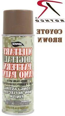 Coyote Brown Camouflage 12 Oz. Aerosol Can Spray Paint Can R