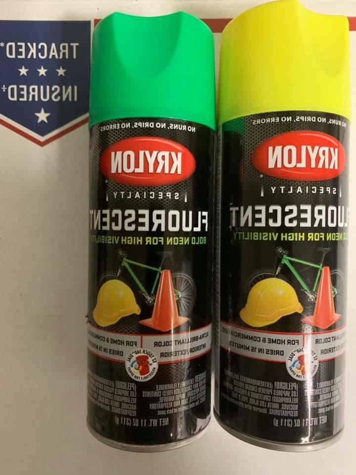 fluorescent spray paint bold neon color high
