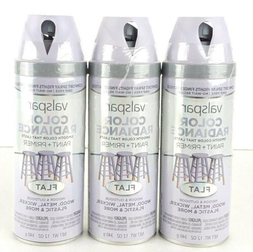 lot of 3 color radiance spray paint