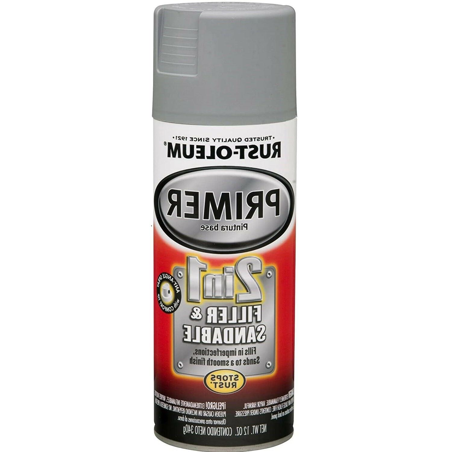 Rust-Oleum 2 Automotive Primer Paint oz Gray