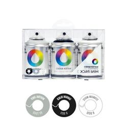 Montana MTN Colors - Water Based Spray Paint Mini Pack - 3 x