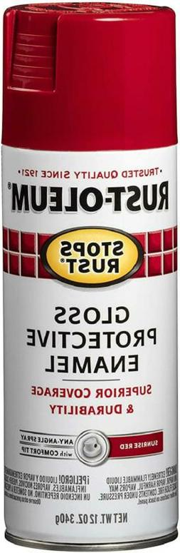 Rust-Oleum 7762830 Stops Rust Spray Paint, 12 Ounce, Gloss S