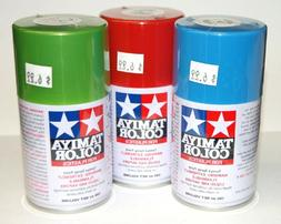 TAMIYA SPRAY LACQUER PAINT FOR MODEL & HOBBIES - 3oz.CAN - O